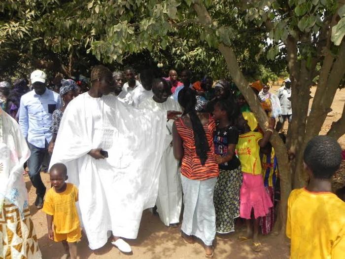 Les premières images de la visite de proximité de Idrissa Seck en Casamance