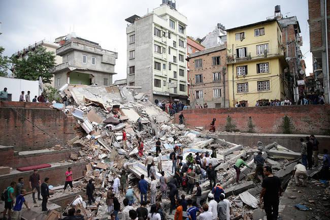 Un footballeur sénégalais raconte le tremblement de terre de Katmandou du 25 avril