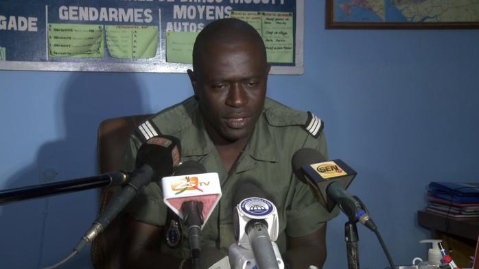 AFFAIRE DU VÉHICULE SAISI DE SERIGNE FALLOU MBACKE : Le Commandant de la Compagnie de Louga confirme, mais précise