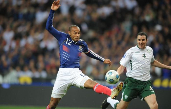 La Fifa aurait versé cinq millions d'euros à l'Irlande pour la main de Thierry Henry