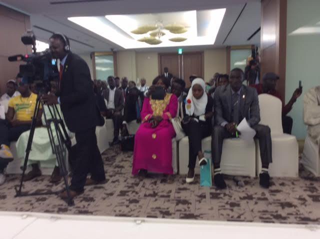 Le Président Macky Sall rencontre la communauté sénégalaise de Corée