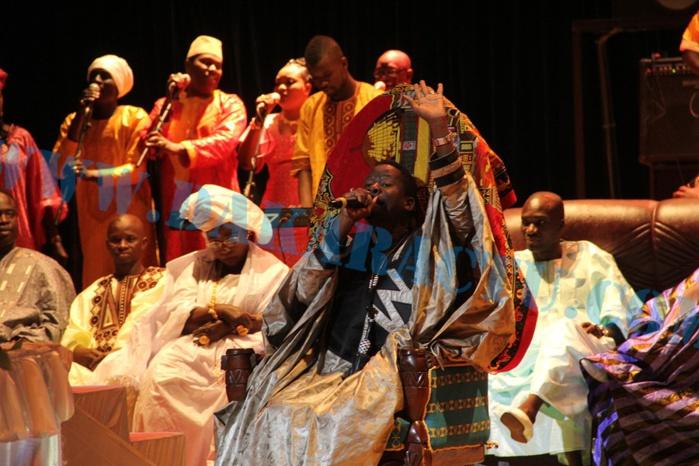 """Les images de l'anniversaire de Alassane M'baye """"Guéweul des VIP"""" au Grand Théâtre National"""