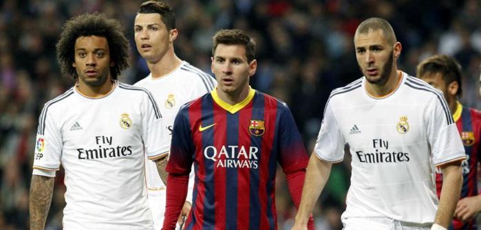 Le Real Madrid reste devant le FC Barcelone, le PSG onzième