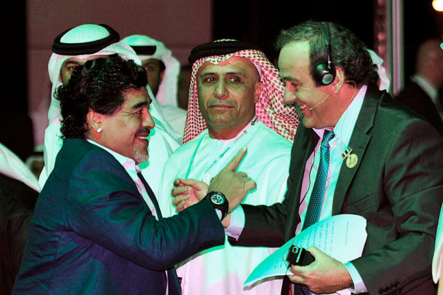 Maradona accuse Platini de corruption !