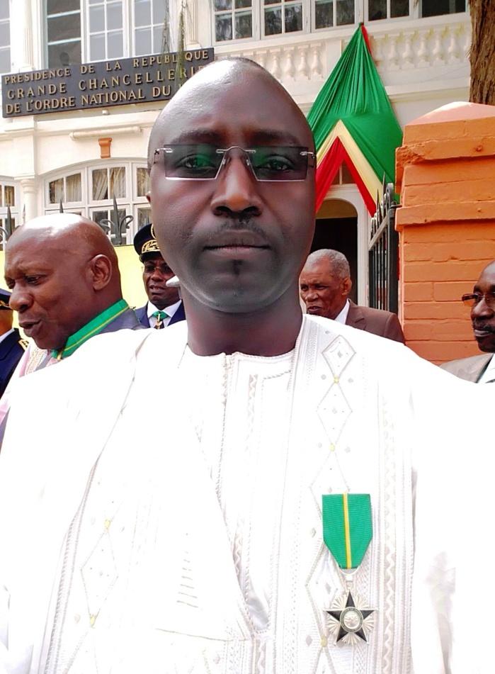 Décoration : Momar NDAO, Président de l'ASCOSEN honoré par le Chef de l'Etat.