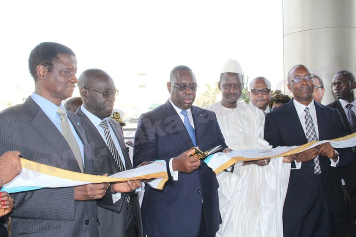 Les images de la cérémonie d'inauguration du nouveau siège Sonatel