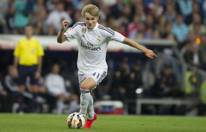 Le Real Madrid va prêter son jeune prodige Martin Odegaard