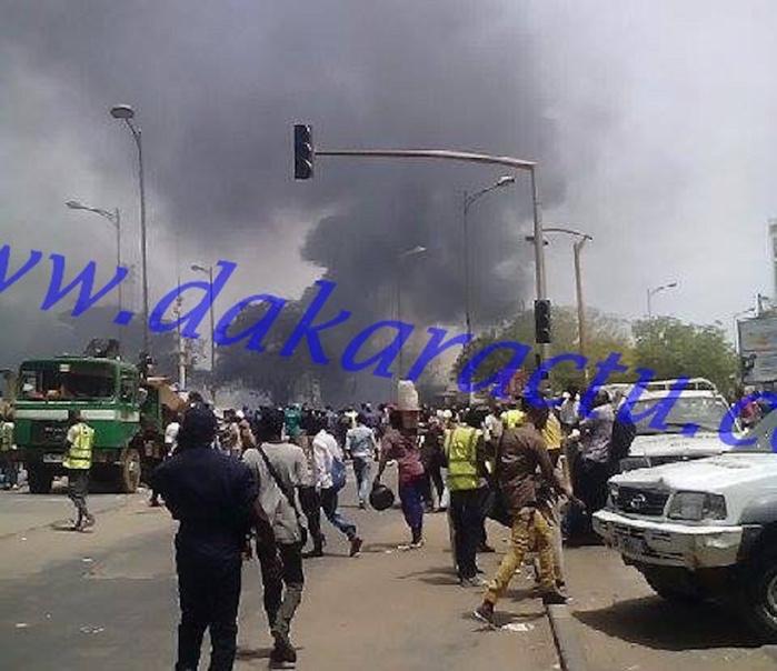 Incendie des magasins de Petersen : Les autorités chargent les habitants de la localité