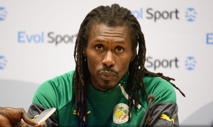 """Aliou Cissé : """"Parfois, on a manqué de fraîcheur physique"""""""