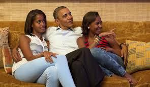 """Michelle Obama : """" Qu'est-ce que Barack et moi faisons subir à nos filles ? """""""
