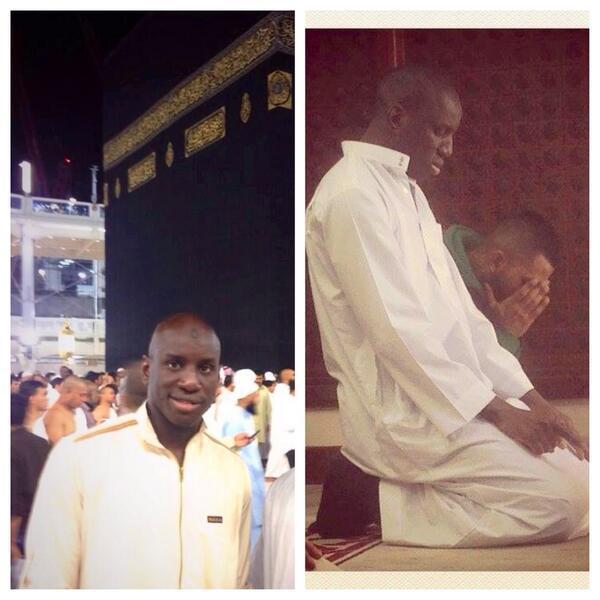 L'international Sénégalais, DEMBA  BA, était hier à Koussanar pour l'inauguration de la moquée qu'il a réhabilitée.