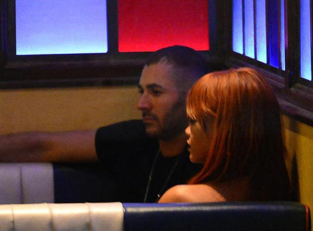 Rihanna: elle s'éclate avec Benzema sous les yeux de...Chris Brown!