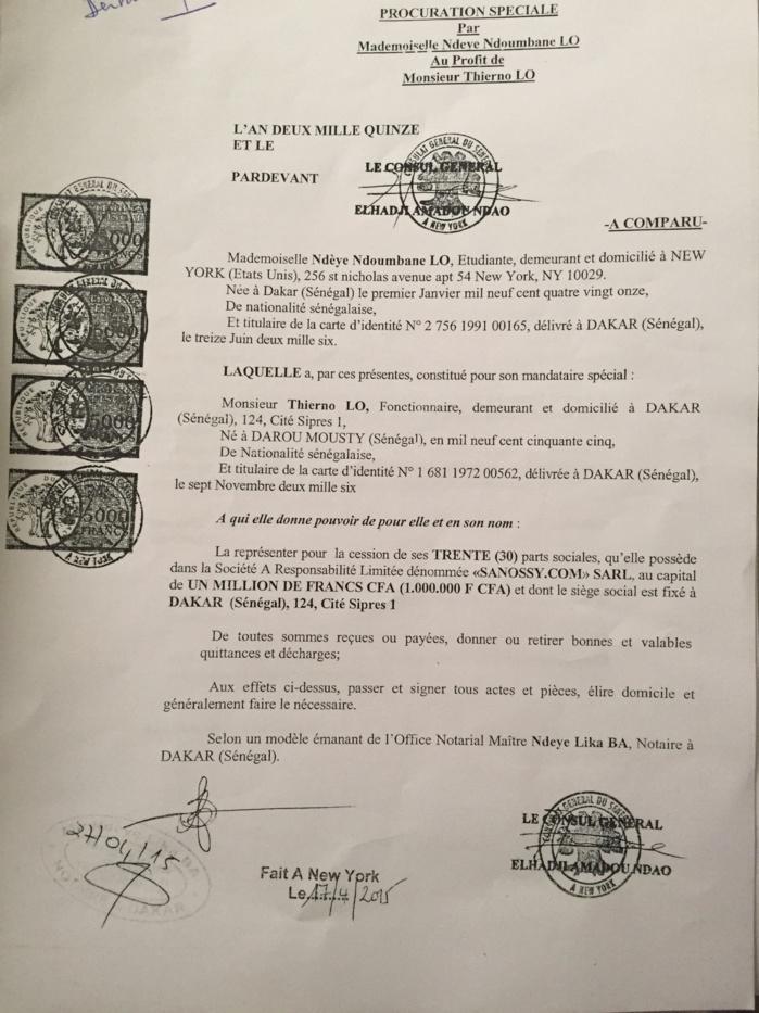 Contentieux Thierno Lo/Serigne Mboup : Thierno Lo s'explique