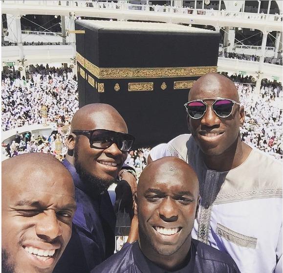RAMADAN : Demba Ba, Jacques Faty, Moussa Sow et Issiar Dia en Oumra à la Mecque