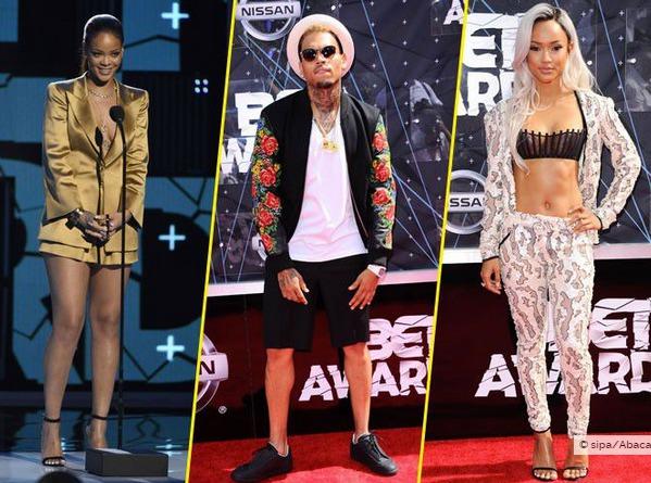 BET Awards 2015 : Rihanna, Chris Brown, Karrueche Tran : les ex réunis !