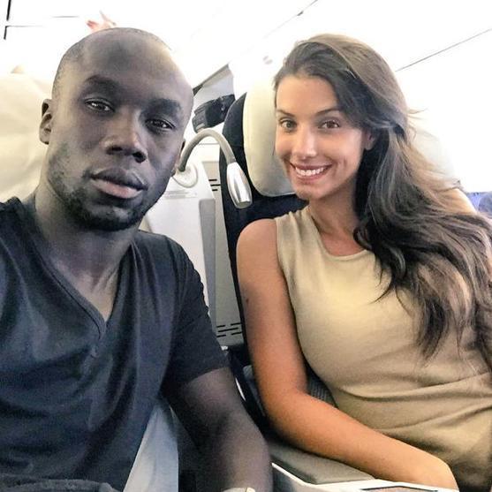 Bacary Sagna : En toute complicité avec sa femme Ludivine