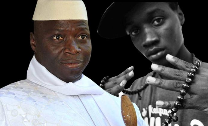 "Gambie – Ali Cham, alias ""Killa Ace"", le rappeur qui défie Yaya Jammeh"
