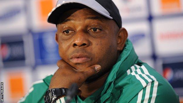 Stephen Keshi démis de ses fonctions de sélectionneur du Nigeria