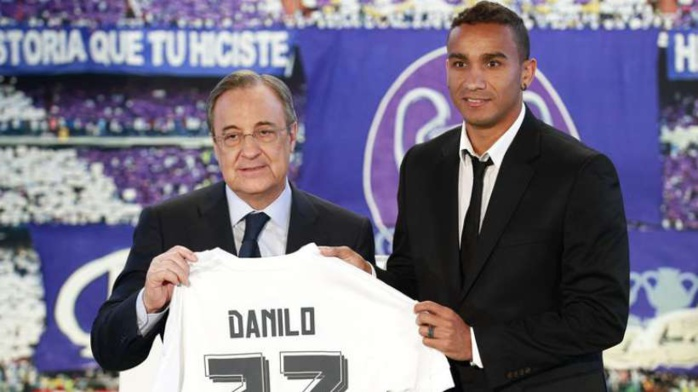Danilo justifie le choix Real Madrid