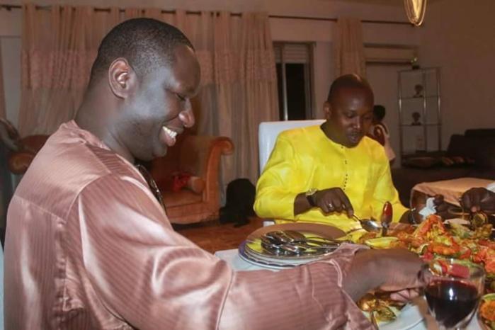 Salam Diallo et Yatma Thiam : En plein « ndogou » chez…Viviane !