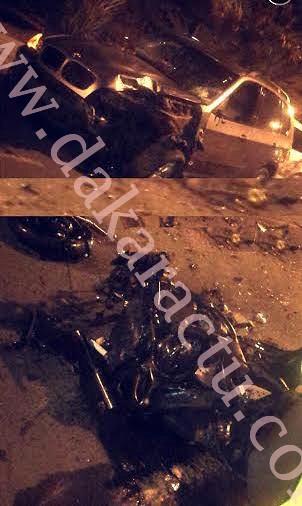 ALMADIES : Une collision entre un scooter et un 4x4 fait un mort