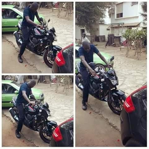 Hameth Ndoye, le jeune mort dans une course de moto ce week end