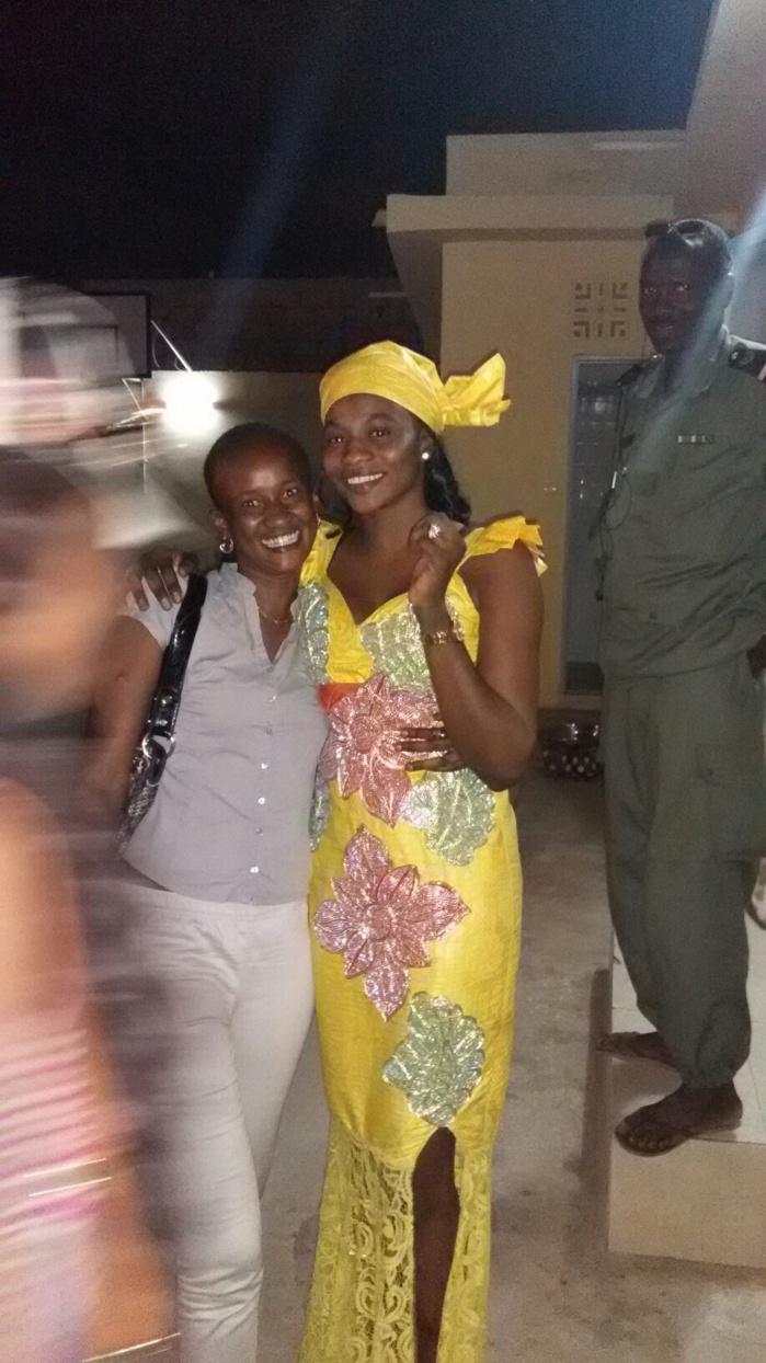 Amina N'guirane à sa sortie de prison après quatre mois (IMAGES)