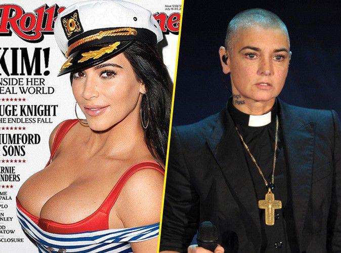 "Kim Kardashian traitée de ""s****e"" par Sinead O'Connor !"