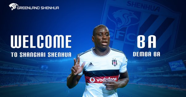 CHINE : Demba Ba marque son premier but