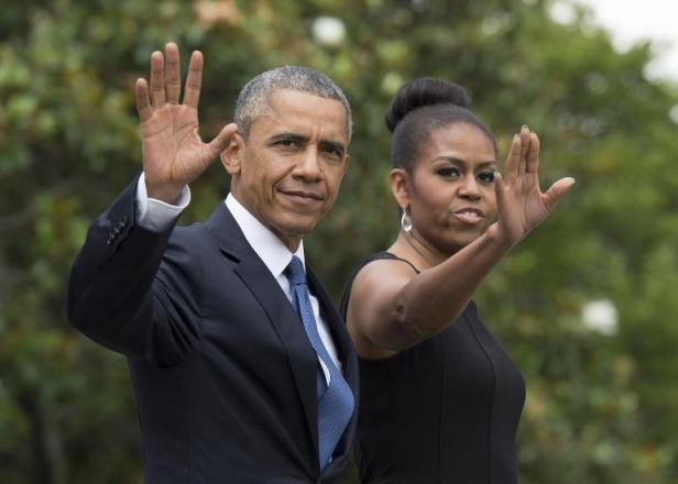 Les premières images du film sur la romance de Barack et Michelle Obama