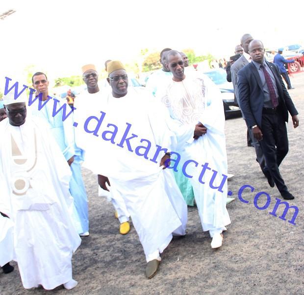 Les images de la célébration de l'Aïd El Fitr à la grande mosquée de Dakar