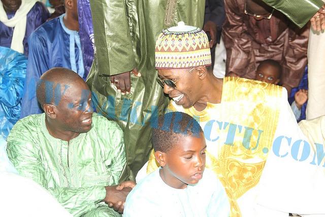 Aid El Fitr : le nouveau look de Cheikh Amar à la mosquée Mazalikoul Jinnan