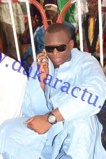 Aid El Fitr : Ahmada Jadid, le fils de Cheikh Modou Kara Mbacké était à la mosquée Mazalikoul Jinnan