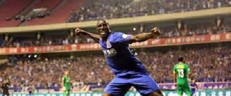 Demba Ba inscrit son deuxième but en Chine