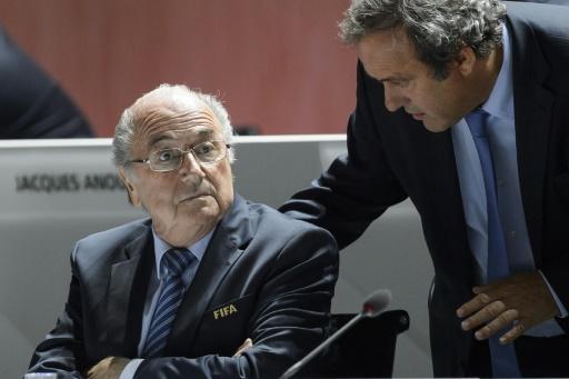 FIFA : Rencontre Blatter-Platini à la veille du comité exécutif