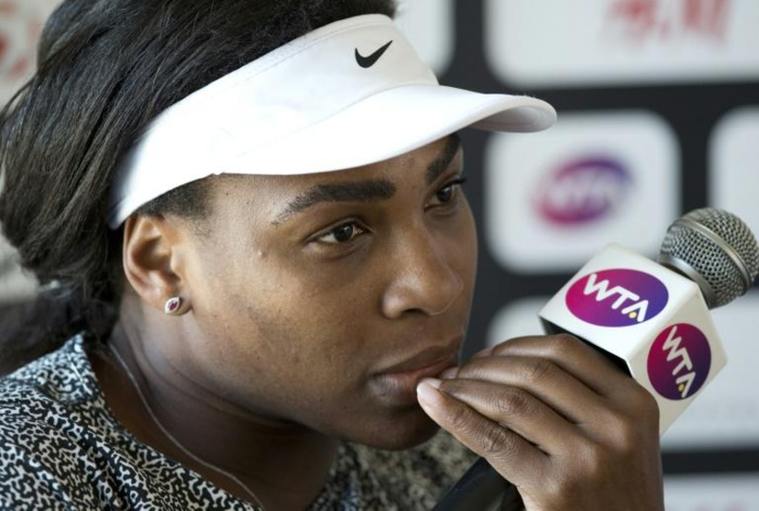TENNIS : Serena Williams entame sa 250e semaine à la 1re place WTA