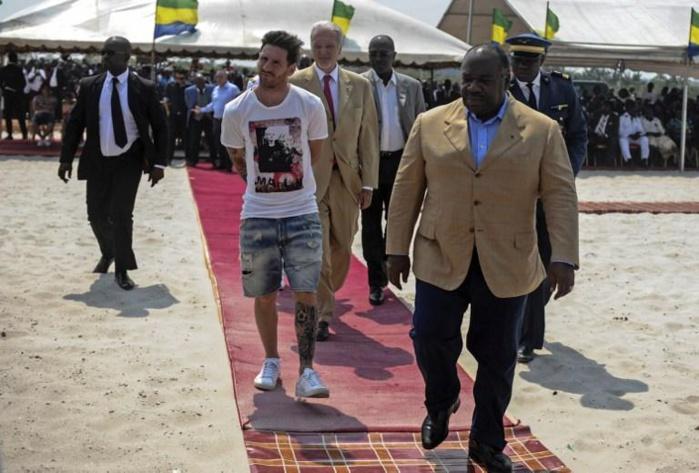 Messi nie avoir touché plusieurs millions d'euros pour se rendre au Gabon