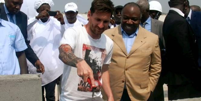 «Messi est venu gratuitement», selon le Gabon