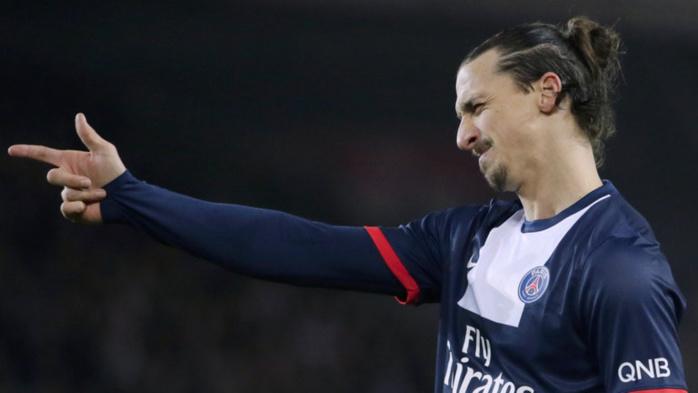 Zlatan Ibrahimovic souhaite la bienvenue à Kevin Trapp à sa façon...