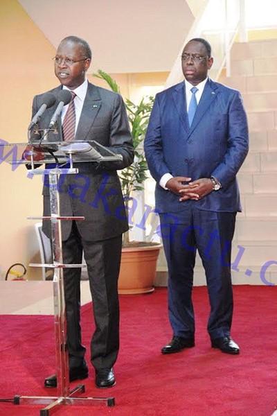 CONSEIL DES MINISTRES : Macky soustrait 2 milliards des projections du Conseil interministériel