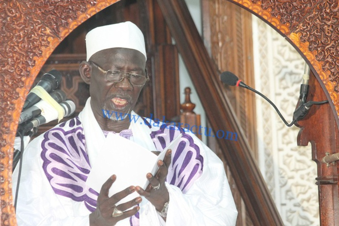 El Hadji Malick Diagne adjoint de l'Imam, assène : « C'est une grosse erreur de sa part! »