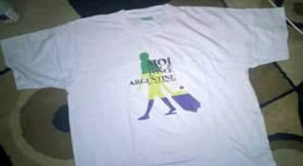 Gabon : le tee-shirt moquant Messi est interdit