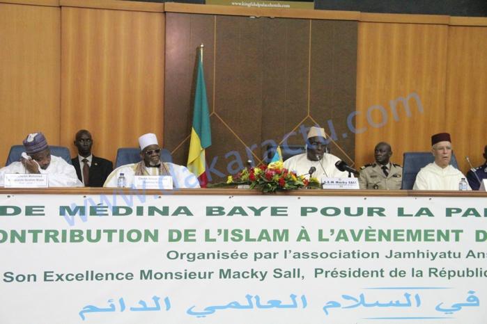 L'ouverture de la conférence internationale sur Islam et Paix en images