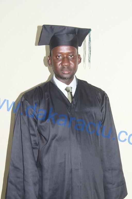 Serigne Abdou Mbacké NDAO, maire de la Commune de Mbacké, est un des diplômés de l'Institut Africain de Management ( IAM ) 2015