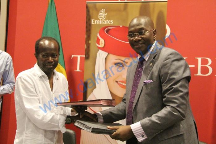 Partenariat Emirates-Comité National Olympique : La convention sera étendue à toutes les fédérations (Diagna N'diaye)