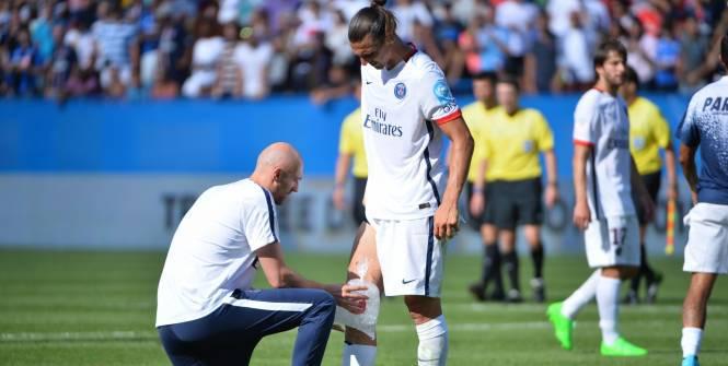 Touché au genou, Zlatan Ibrahimovic se contente de courir