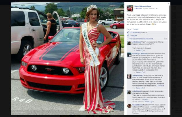 Etats-Unis: Une «Miss» fait croire qu'elle a un cancer et récolte des milliers de dollars
