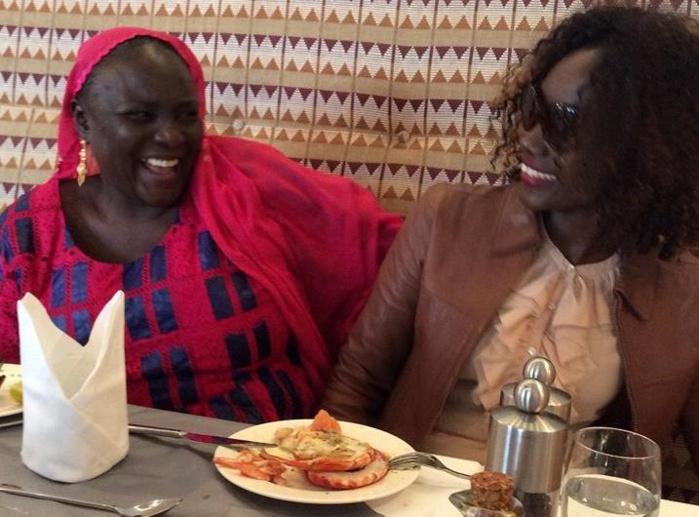Coumba Gawlo Seck : En toute intimité avec sa maman