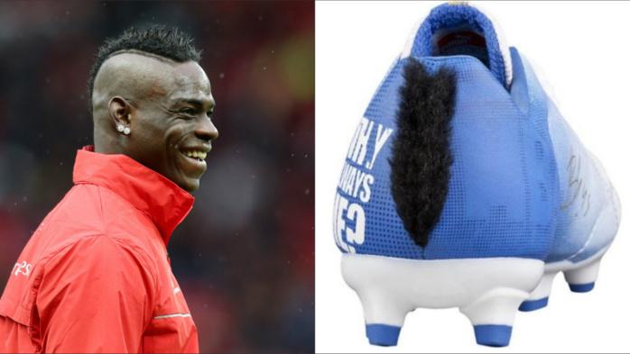 Puma invente la chaussure à crête en hommage à Mario Balotelli