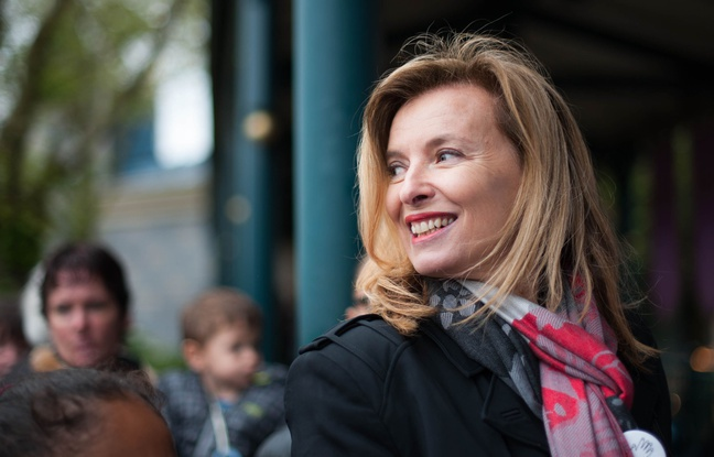Valérie Trierweiler félicite Ségolène Royal